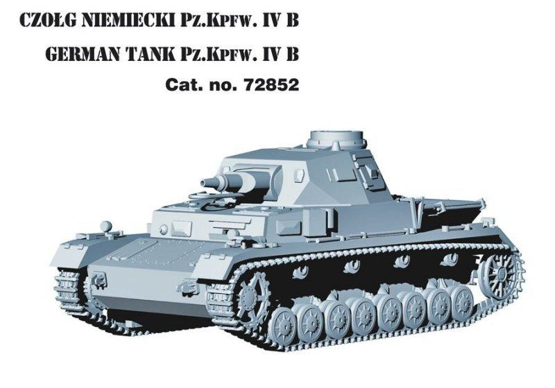 "German Tank Pz.Kpfw. IV Ausf. B ""21 Panzerdivision neu 1943"""
