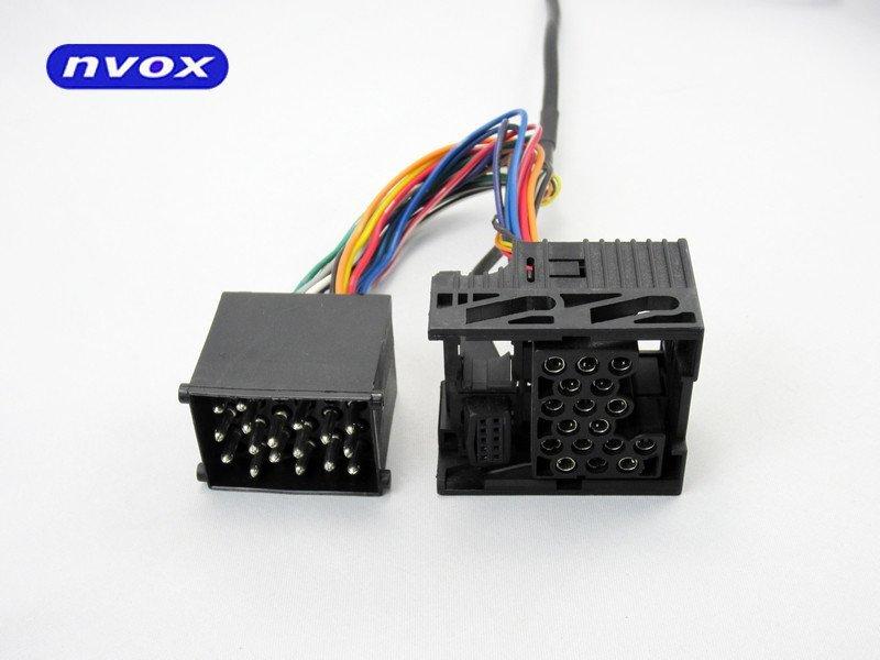Zmieniarka cyfrowa emulator MP3 USB SD BMW ROVER MINI 17 PIN... (NVOX NV1086m BMW1 17PIN)