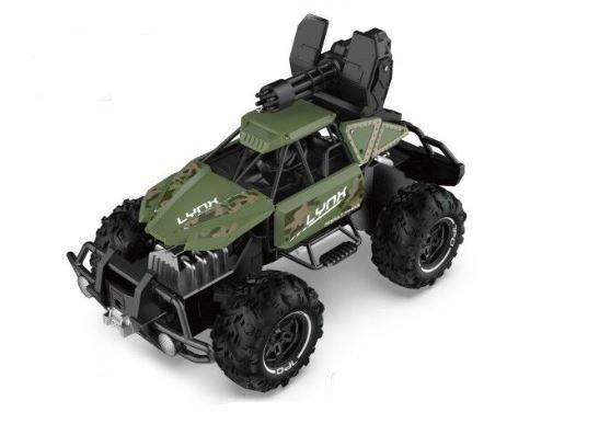 Auto wyczynowe Buggy SL-246A 1:12 2.4GHZ Strzelające - Zielone