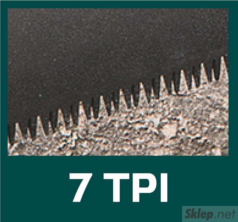 Piła płatnica PTFE 450 mm, pokrowiec