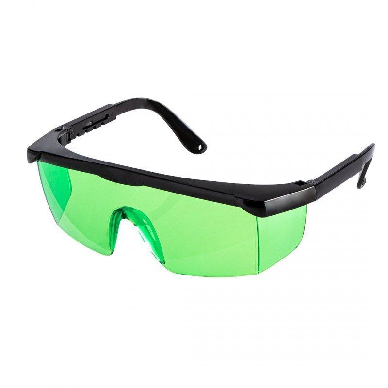 Okulary wzmacniające widoczność lasera zielone