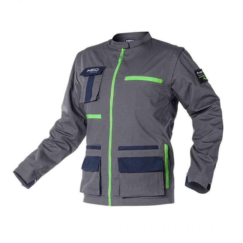 Bluza robocza PREMIUM, 100% bawełna, ripstop, rozmiar XS