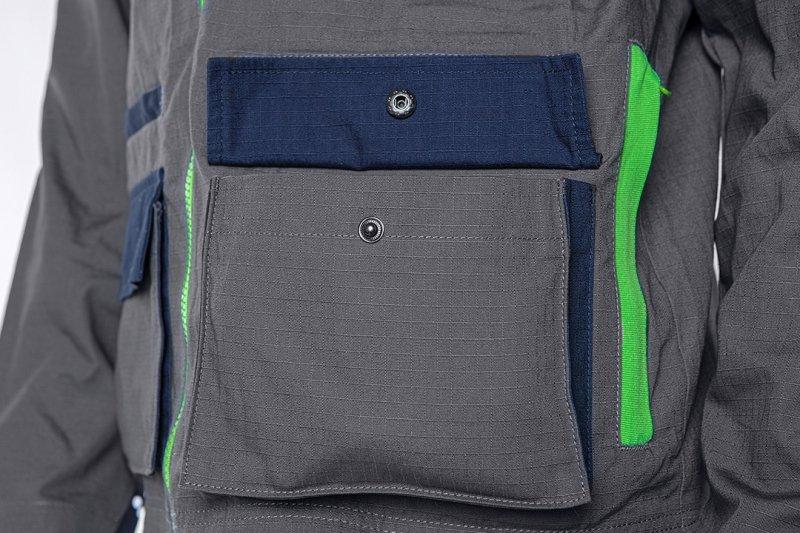 Bluza robocza PREMIUM, 100% bawełna, ripstop, rozmiar XXXL