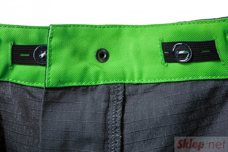 Spodnie robocze PREMIUM, 100% bawełna, ripstop, rozmiar XS