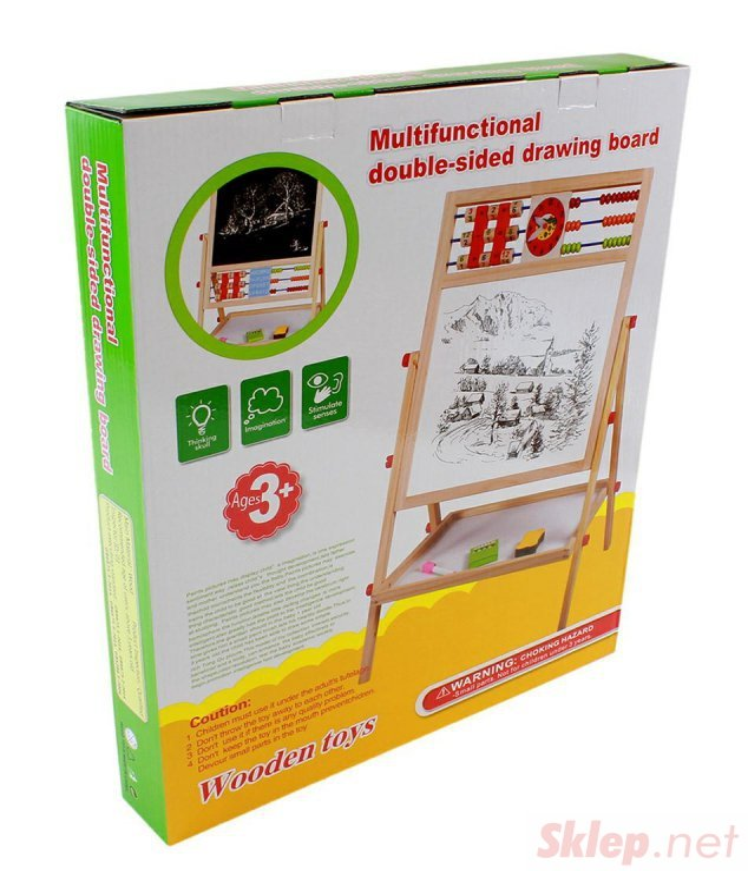 ZA300A Obrotowa tablica mag. 6w1 akcesor