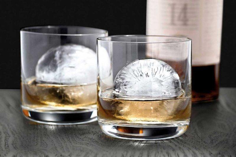 FORMA SILIKONOWA NA 4 KULE LODOWE DO DRINKÓW NAPOJÓW