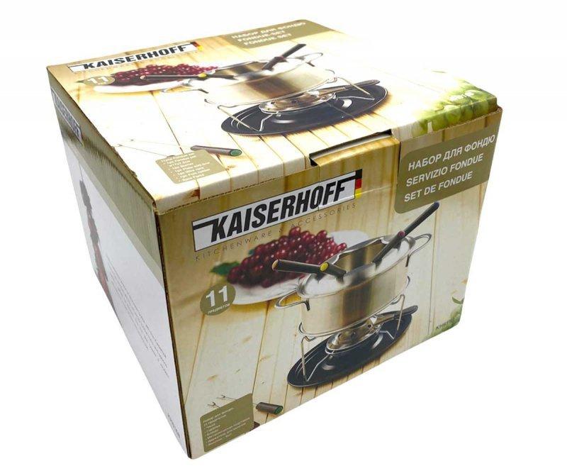 FONDUE KAISERHOFF KH-6168 ZESTAW DLA 6 OSÓB