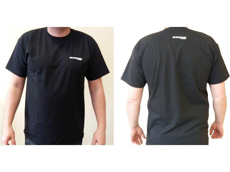 Koszulka RADAR czarna bawełna 205g/m2 rozmiar M