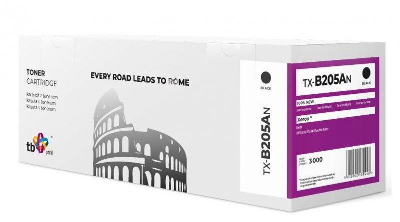 Toner do Xerox B205 B210 B215 TX-B205AN BK 100% nowy