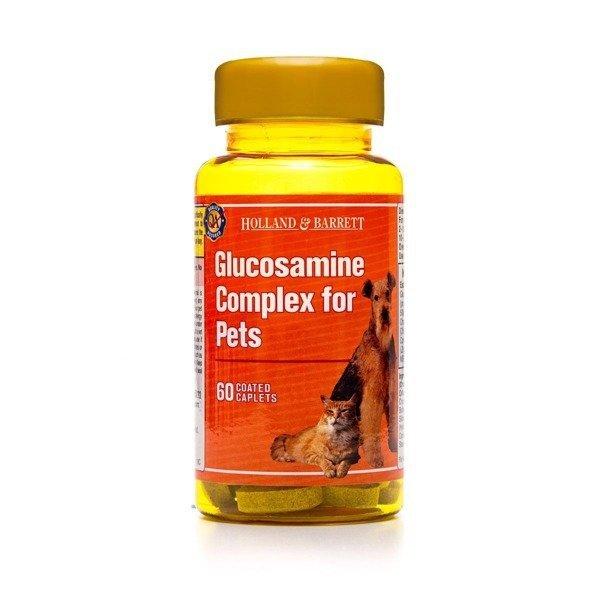 Holland & Barrett Glukozamina dla Zwierząt 60 Kapletek