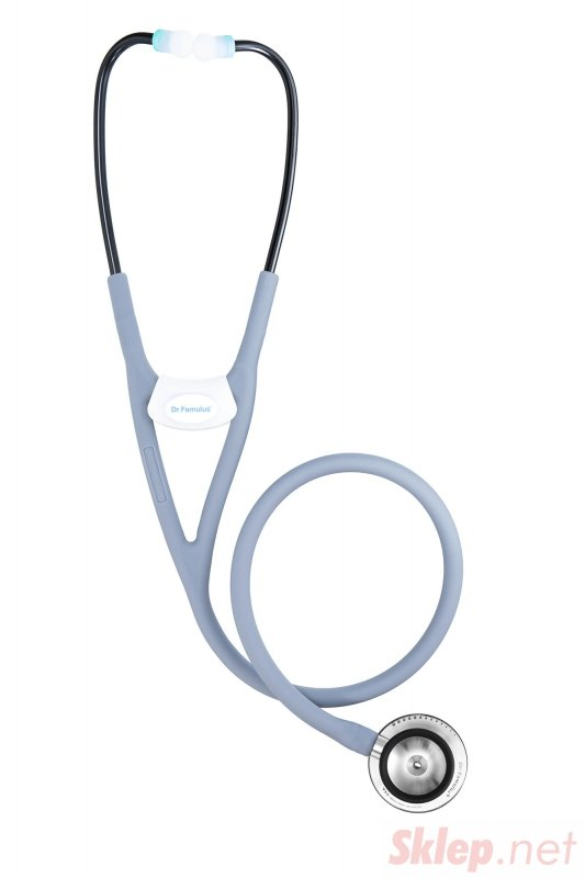 Dr. Famulus DR 520 D-jasnoszary Stetoskop następnej generacji, Strojenie Fine Tune, Internistyczny, Kardiologiczny