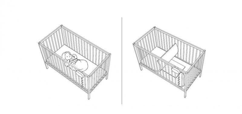 Baby Control BC-200 Monitor oddechu z poduszką sensoryczną