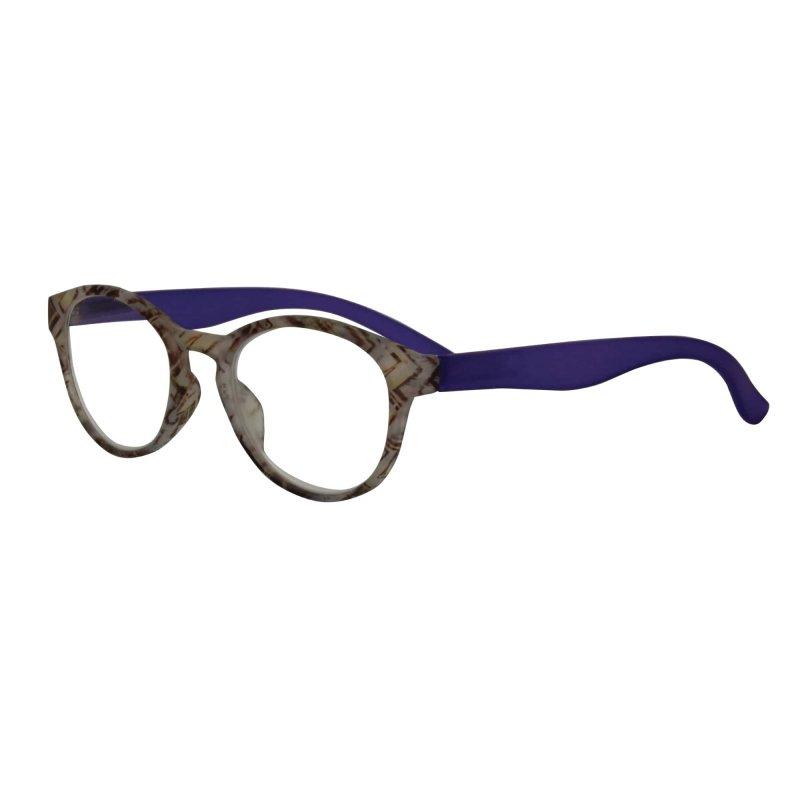 Visioptica By Visiomed France Delhi-+ 1,5 Szaro niebieskie Okulary korekcyjne do czytania