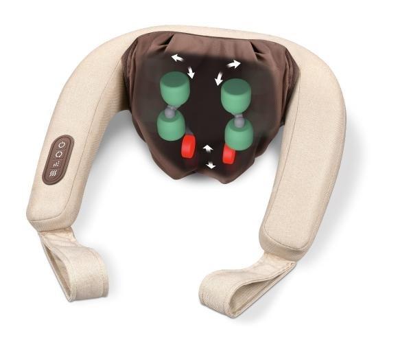 BEURER MG 153 Urządzenie do masażu karku 4D