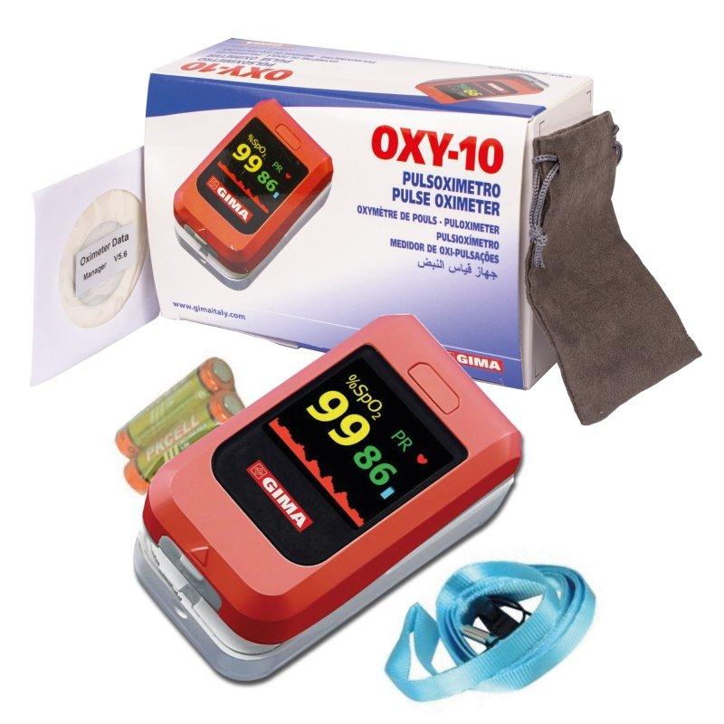 GIMA OXY-10  Pulsoksymetr napalcowy z Bluetooth