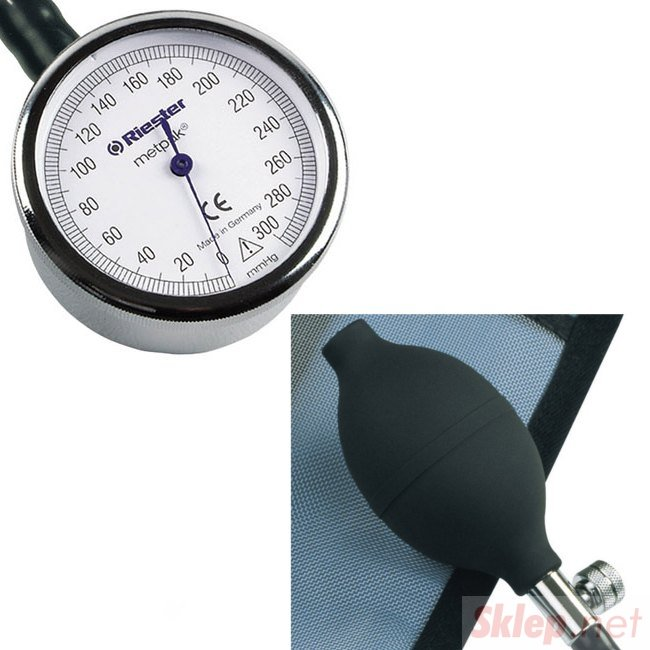 Riester Metpak-500 ml Aparat do podawania płynów pod ciśnieniem Metpak