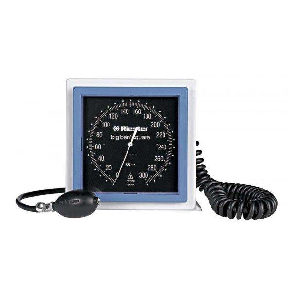 Riester Big Ben-32 - 42 cm RIESTER 1456 - 123 do biurkowego kwadratowego Duży lekarski ciśnieniomierz zegarowy