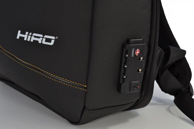 """Plecak HIRO Rhino do notebooka 15.6"""" (czarny)"""