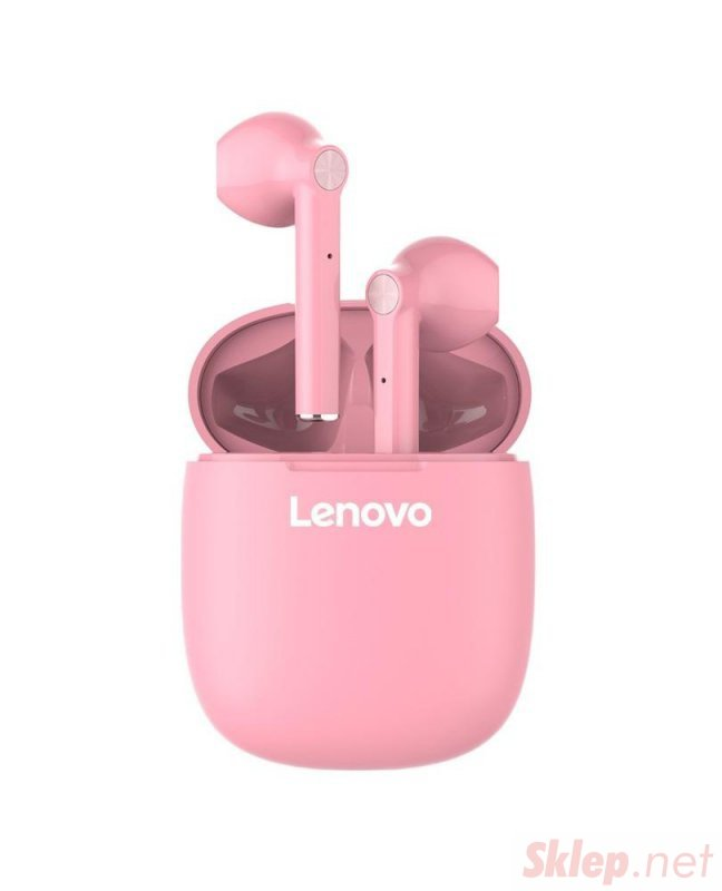 Słuchawki bezprzewodowe Lenovo HT30 (różowe)
