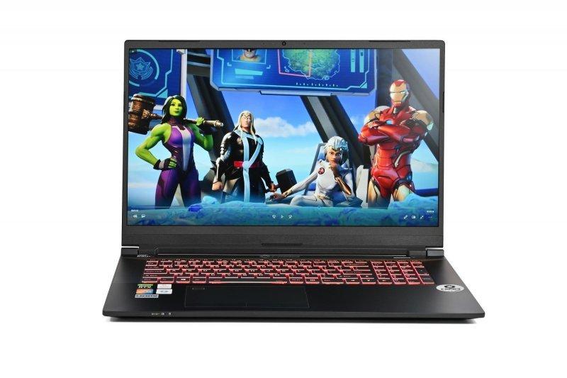 "Laptop do gier HIRO C770 17,3"", 144Hz - i7-10870H, RTX 3070 8GB, 16GB RAM, 512GB SSD M.2, W10"