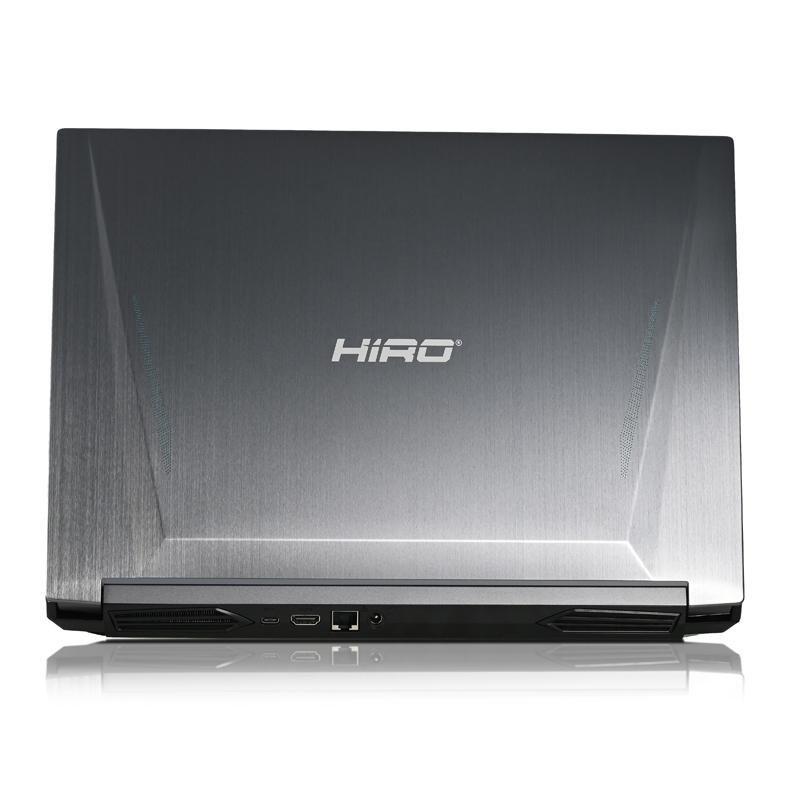 "Laptop do gier HIRO N560 15,6"", 144Hz - i7-10870H, RTX 3060 6GB, 16GB RAM, 512GB SSD M.2, W10"