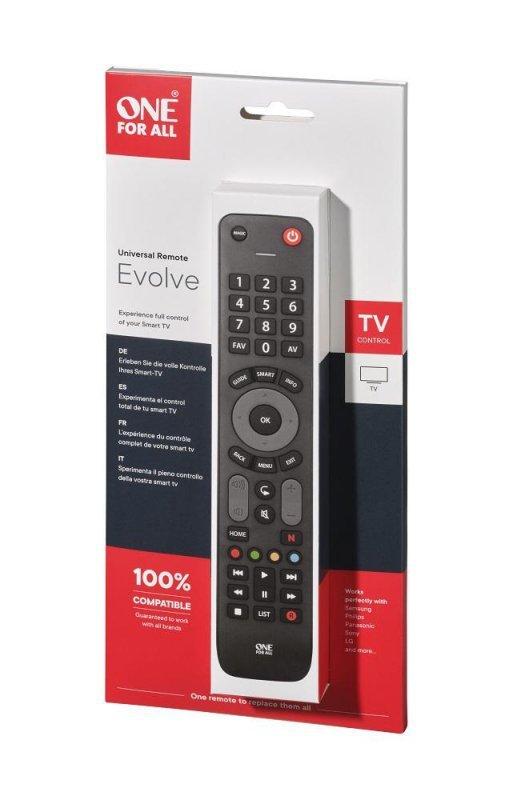 Pilot uniwersalny One For All Evolve TV URC7115