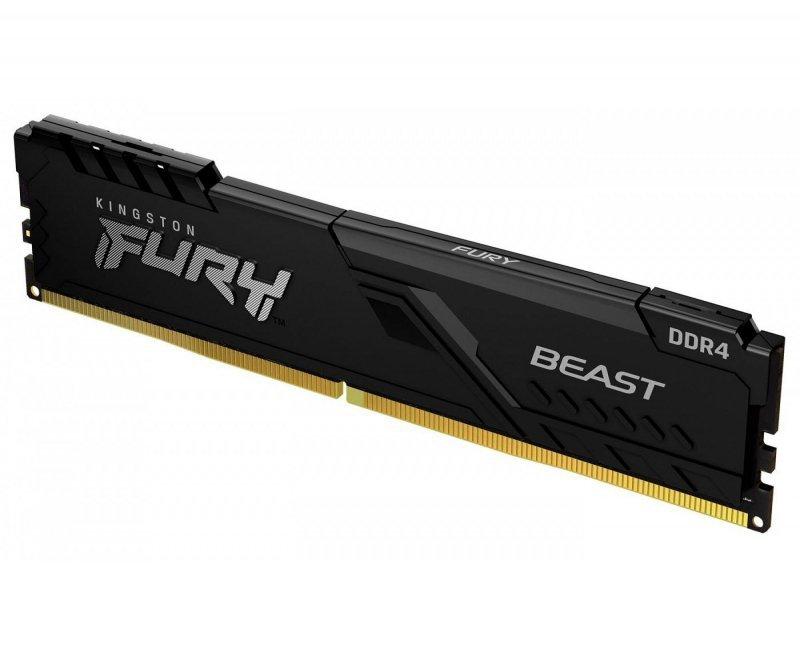 Pamięć RAM HyperX Fury Beast 16GB (2x8GB) DDR4 2666MHz