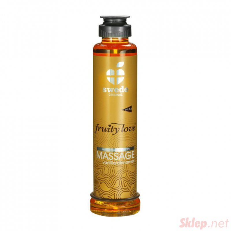 Owocowy olejek do masażu - Wanilia Cynamon200 ml