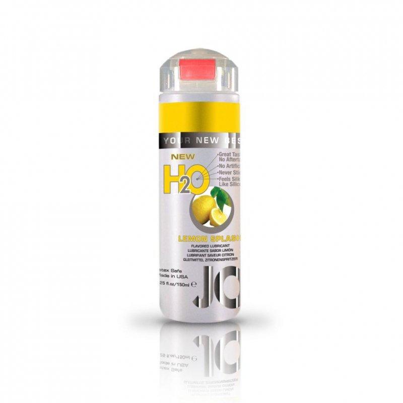 Lubrykant smakowy wodny - System JO H2O Lubricant Lemon 150 ml, Cytryna