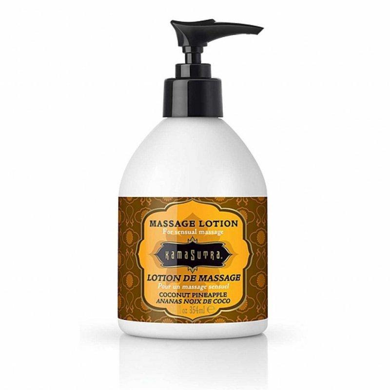 Balsam do masażu - Kama Sutra Massage Lotion Coconut Pineapple