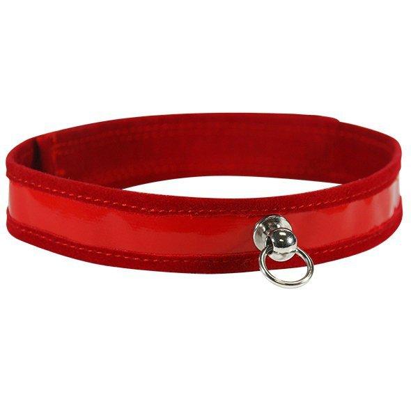 Obroża - S&M Red Day Collar