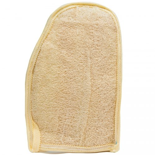 Rękawica do mycia i masażu loofah duża