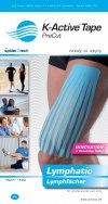 K-Active Kinesiology Tape PreCut Limfatyczny