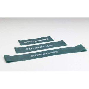 Loop - 7,6 x 20,5 cm obręcz taśma Thera Band zielona