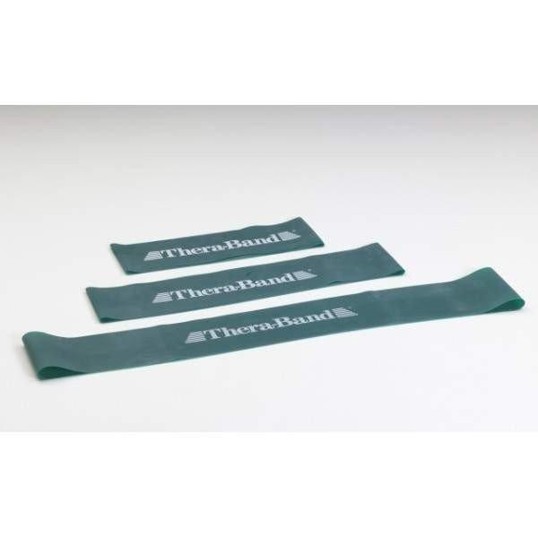 Loop - 7,6 x 45,7 cm obręcz taśma Thera Band zielona