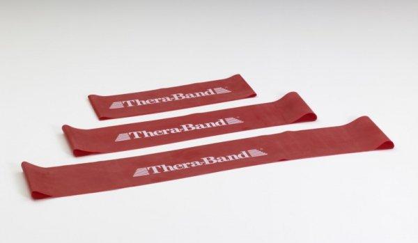 Loop - 7,6 x 45,7 cm obręcz taśma Thera Band czerwona