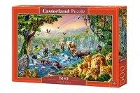 Puzzle 500 Rzeka w dżungli