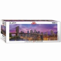 Puzzle 1000 Panorama Brooklyn Bridge w Nowym Jorku 6010-5301