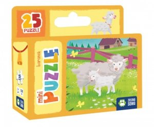 Mini puzzle 16 baranek