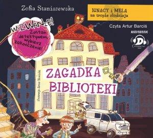 CD MP3 Zagadka biblioteki Ignacy i Mela na tropie złodzieja