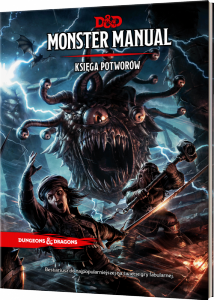 Dungeons and dragons monster manual (księga potworów)