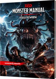 Dungeons and dragons monster manual (księga potworów)