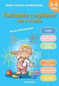 Ćwiczenia z myślenia dla 3-4 latka wyd. 2