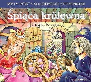 CD MP3 Śpiąca królewna. Słuchowisko z piosenkami