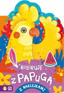 Koloruję z papugą