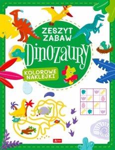 Dinozaury. Zeszyt zabawy