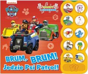 Brum, Brum! Jedzie Psi Patrol! Zabawy z dźwiękami. Psi Patrol