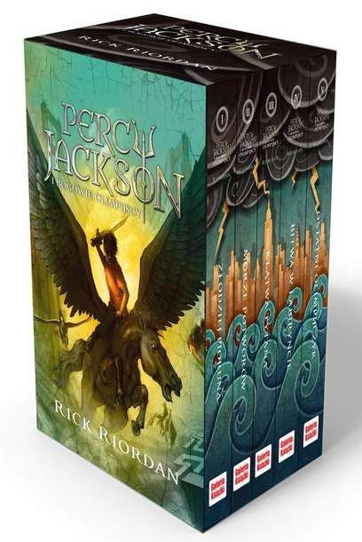 Pakiet Percy jackson i bogowie olimpijscy Tom 1-5 wyd. 2016