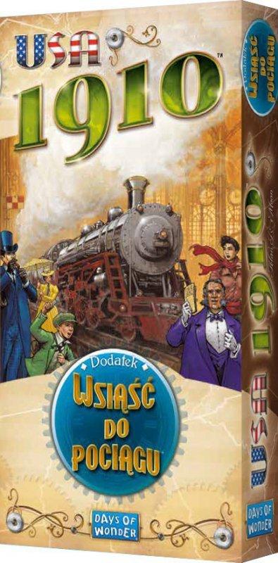 Gra Wsiąść do pociągu usa 1910