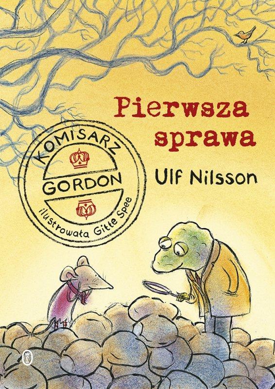 Pierwsza sprawa komisarz gordon